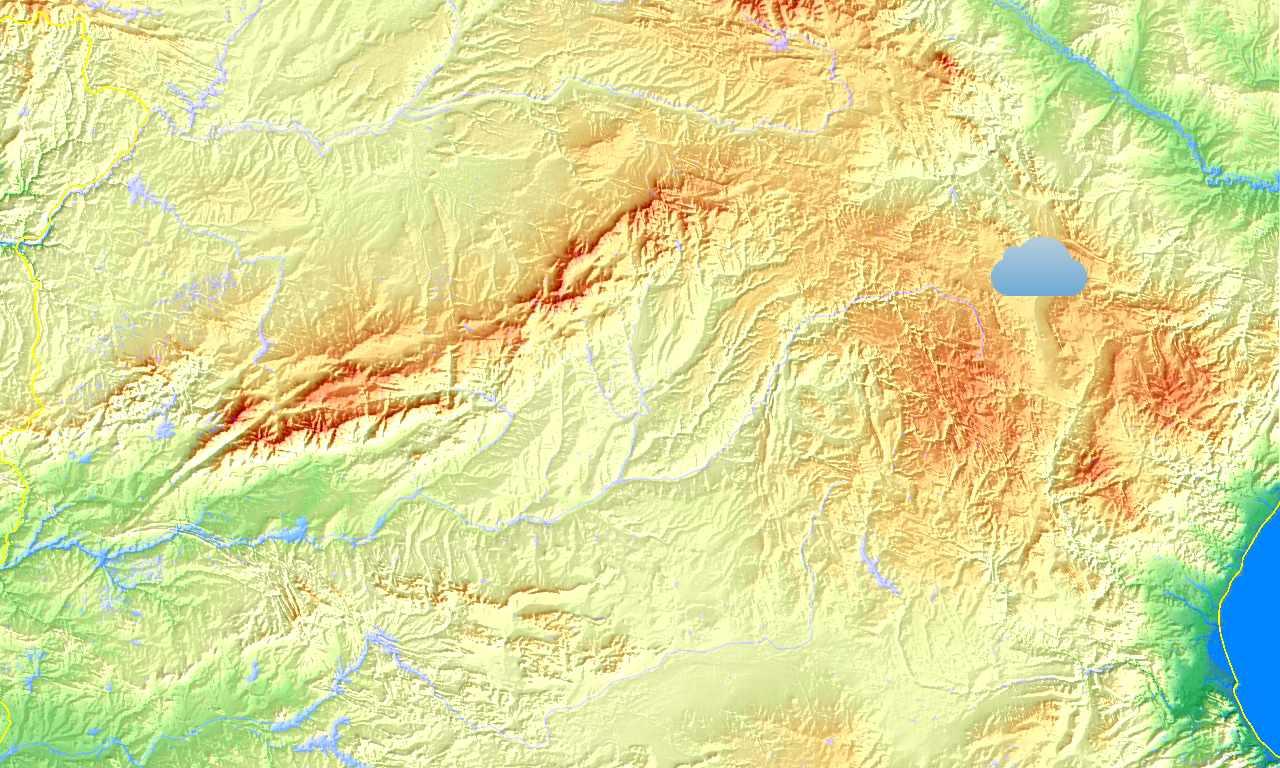 Időkép térkép